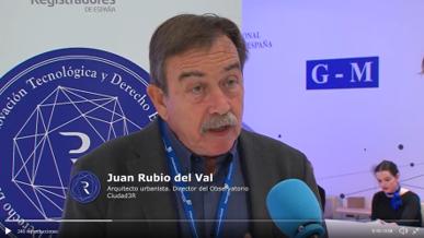 04-10-2019 El Observatorio Ciudad 3R participa en una Mesa sobre Objetivos de Desarrollo Sostenible en el  V Congreso de Registradores celebrado en Sevilla.
