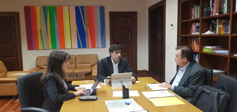 27-09-2019 Reunión con el Director General de Arquitectura, Vivienda y Suelo